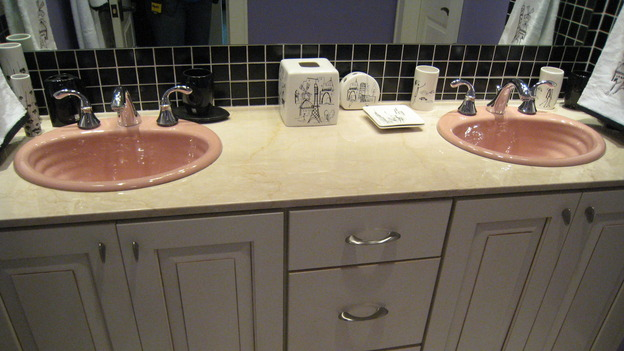 EXTREME MAKEOVER HOME EDITION - &quot;Jacobo Family&quot; - Bathroom, on &quot;Extreme Makeover Home Edition,&quot; Sunday, May 13th on the ABC Television Network.
