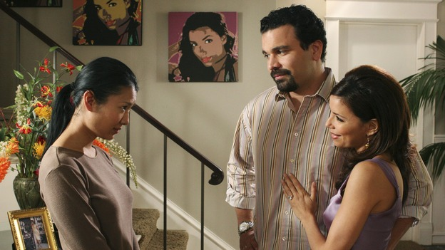 "DESPERATE HOUSEWIVES - ""Silly People"" - (ABC/DANNY FELD)GWENDOLINE YEO, RICARDO ANTONIO CHAVIRA, EVA LONGORIA"