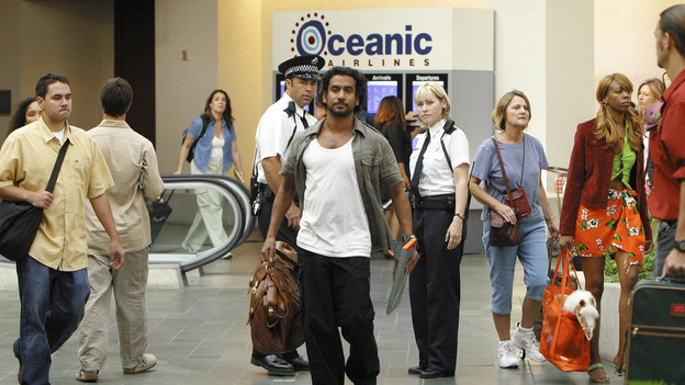 "LOST - ""Exodus"" - Sayid at the airport, on ""Lost,"" on THURSDAY, MAY 18 on the ABC Television Network. (ABC/MARIO PEREZ) NAVEEN ANDREWS"