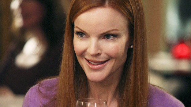 "DESPERATE HOUSEWIVES - ""In Buddy's Eyes"" - Bree and Katherine join forces to plan the Founders Day Ball, on Desperate Housewives,"" SUNDAY, APRIL 20 (9:00-10:02 p.m., ET) on the ABC Television Network. (ABC/DANNY FELD) MARCIA CROSS"