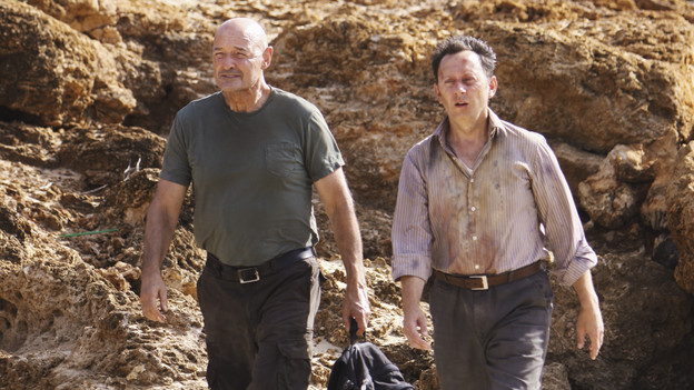 "LOST - ""LA X"" - ""Lost"" returns for its final season of action-packed mystery and adventure -- that will continue to bring out the very best and the very worst in the people who are lost -- on the season premiere of ""Lost,"" TUESDAY, FEBRUARY 2 (9:00-11:00 p.m., ET) on the ABC Television Network. On the season premiere episode, ""LA X"" Parts 1 & 2, the aftermath from Juliet's detonation of the hydrogen bomb is revealed. (ABC/MARIO PEREZ)TERRY O'QUINN, MICHAEL EMERSON"