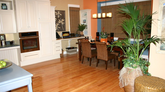 "EXTREME MAKEOVER HOME EDITION - ""Ripatti Family,"" - Dining Room, on ""Extreme Makeover Home Edition,"" Sunday, December 10th on the ABC Television Network."