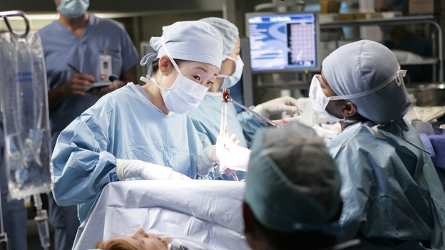 GREY'S ANATOMY - &quot;Owner of a Lonely Heart&quot; (ABC/CRAIG SJODIN)SANDRA OH, CHANDRA WILSON