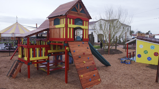 EXTREME MAKEOVER HOME EDITION - &quot;Okvath Family,&quot; - Playground, on &quot;Extreme Makeover Home Edition,&quot; Sunday, May 13th on the ABC Television Network.