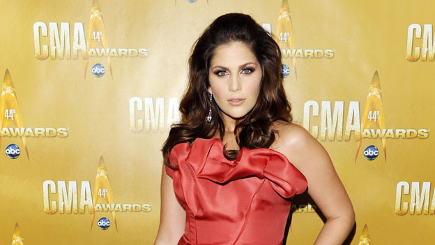 THE 44TH ANNUAL CMA AWARDS - RED CARPET ARRIVALS - &quot;The 44th Annual CMA Awards&quot; will be broadcast live from the Bridgestone Arena in Nashville, WEDNESDAY, NOVEMBER 10 (8:00-11:00 p.m., ET) on the ABC Television Network. (ABC/ANDREW WALKER)HILLARY SCOTT OF LADY ANTEBELLUM