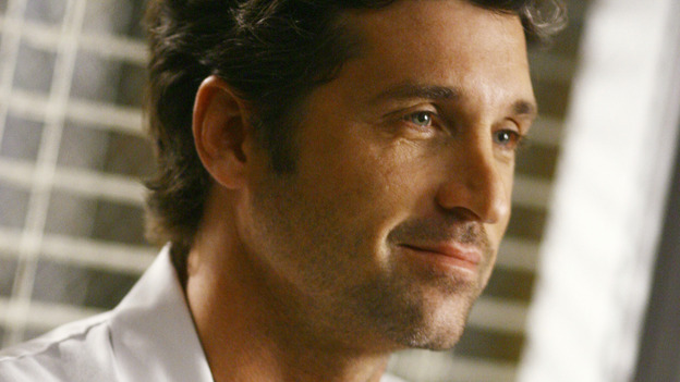 "GREY'S ANATOMY - ""Dream a Little Dream of Me"" - Dr. Derek Shepherd, on ""Grey's Anatomy,"" THURSDAY, SEPTEMBER 25 (9:00-11:00 p.m., ET) on the ABC Television Network. (ABC/SCOTT GARFIELD) PATRICK DEMPSEY"