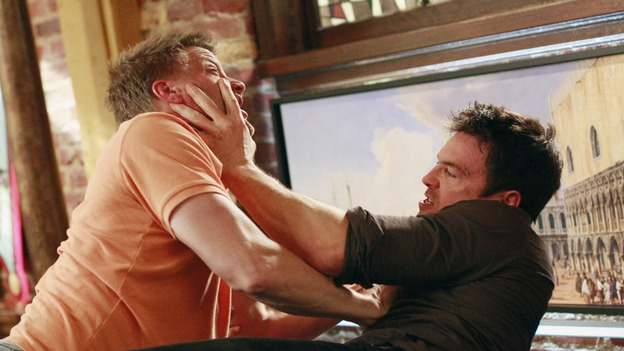 "DESPERATE HOUSEWIVES - ""Hello, Little Girl"" - Tom Scavo vs Rick Coletti. SUNDAY, APRIL 27 (9:00-10:02 p.m., ET) on the ABC Television Network. (ABC/RON TOM) DOUG SAVANT, JASON GEDRICK"