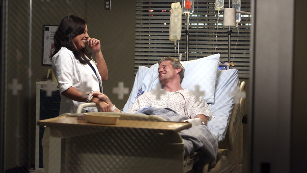 "GREY'S ANATOMY - ""Remember the Time"" - (ABC/DANNY FELD)SARA RAMIREZ, ERIC DANE"