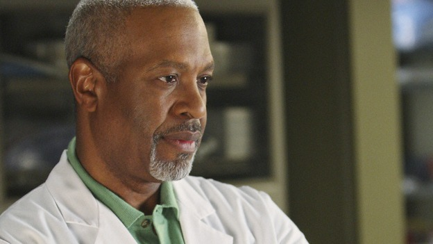 "GREY'S ANATOMY - ""All By Myself"" - Dr. Richard Webber, on ""Grey's Anatomy,"" THURSDAY, DECEMBER 4 (9:00-10:01 p.m., ET) on the ABC Television Network. (ABC/CRAIG SJODIN) JAMES PICKENS JR."