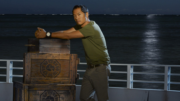 "LOST - ABC's ""Lost"" stars Ken Leung as Miles. (ABC/BOB D'AMICO)"