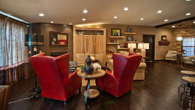 "EXTREME MAKEOVER HOME EDITION - ""Brown Family,"" - Living Room Picture,    on ""Extreme Makeover Home Edition,"" Sunday, January 30th (8:00-10:00    p.m. ET/PT) on the ABC Television Network."