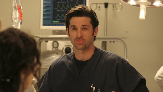 "102004_9681 -- COMPLICATIONS - ""WINNING A BATTLE, LOOSING A WAR"" (ABC/MICHAEL ANSELL)SANDRA OH, PATRICK DEMPSEY"
