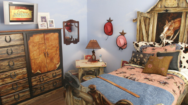 "EXTREME MAKEOVER HOME EDITION - ""Elcano Family,"" - Boy's Bedroom, on ""Extreme Makeover Home Edition,"" Sunday, November 21st on the ABC Television Network."
