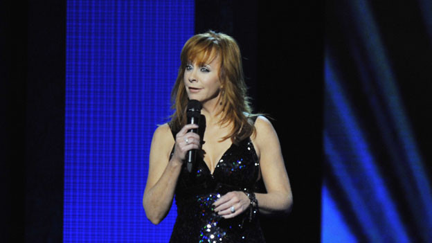 "THE 44TH ANNUAL CMA AWARDS - THEATRE - ""The 44th Annual CMA Awards"" were broadcast live from the Bridgestone Arena in Nashville, WEDNESDAY, NOVEMBER 10 (8:00-11:00 p.m., ET) on the ABC Television Network. (ABC/KATHERINE BOMBOY)REBA MCENTIRE"