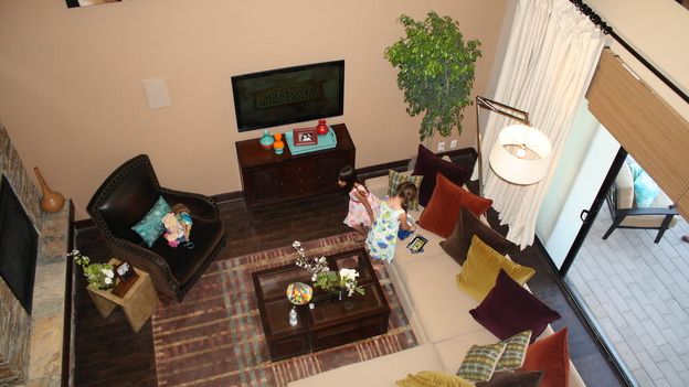 EXTREME MAKEOVER HOME EDITION - &quot;Cerda Family,&quot; - Living Room, on &quot;Extreme Makeover Home Edition,&quot; Sunday, May 10th on the ABC Television Network.