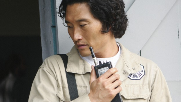 "LOST - ""Namaste"" - When some old friends drop in unannounced, Sawyer is forced to further perpetuate his lie in order to protect them, on ""Lost,"" WEDNESDAY, MARCH 18 (9:00-10:02 p.m., ET) on the ABC Television Network. (ABC/MARIO PEREZ)DANIEL DAE KIM"