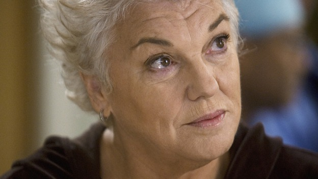 "GREY'S ANATOMY - ""Sympathy for the Devil"" - Derek's mother, Carolyn, suspects Mark is hiding something, on ""Grey's Anatomy,"" THURSDAY, JANUARY 15 (9:00-10:01 p.m., ET) on the ABC Television Network. (ABC/RANDY HOLMES) TYNE DALY"