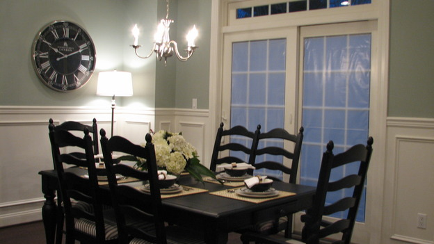"EXTREME MAKEOVER HOME EDITION - ""Killagallon Family,"" - Dining Room, on ""Extreme Makeover Home Edition,"" Sunday, May 6th on the ABC Television Network."