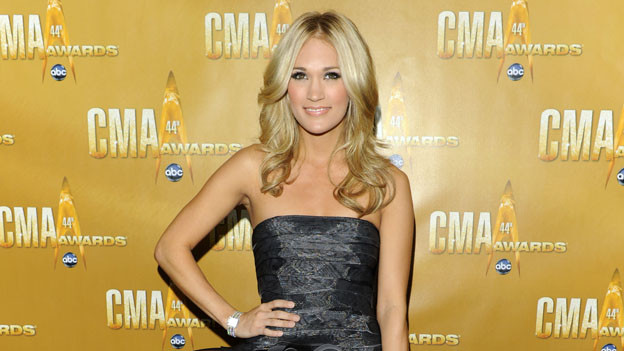 THE 44TH ANNUAL CMA AWARDS - RED CARPET ARRIVALS - &quot;The 44th Annual CMA Awards&quot; will be broadcast live from the Bridgestone Arena in Nashville, WEDNESDAY, NOVEMBER 10 (8:00-11:00 p.m., ET) on the ABC Television Network. (ABC/ANDREW WALKER)CARRIE UNDERWOOD