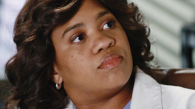 "GREY'S ANATOMY - ""An Honest Mistake"" - Dr. Miranda Bailey, on ""Grey's Anatomy,"" THURSDAY, FEBRUARY 19 (9:00-10:02 p.m., ET) on the ABC Television Network. (ABC/RON TOM) CHANDRA WILSON"