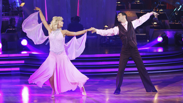 "DANCING WITH THE STARS - ""Episode 1001"" - All eleven couples danced for the first time on live national television on MONDAY, MARCH 22 (8:00-10:00 p.m., ET), with couples either performing the Viennese Waltz or Cha Cha, in the highly anticipated two-hour season premiere of ""Dancing with the Stars,"" on the ABC Television Network. (ABC/ADAM LARKEY)KATE GOSSELIN, TONY DOVOLANI"