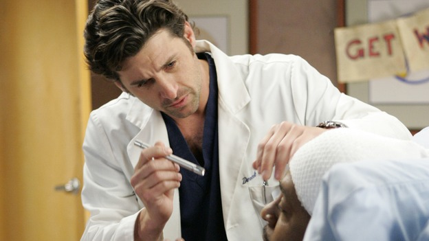 "103276_6578 -- GREY'S ANATOMY - ""ENOUGH IS ENOUGH"" (ABC/CRAIG SJODIN)PATRICK DEMPSEY, JAMES PICKENS, JR."