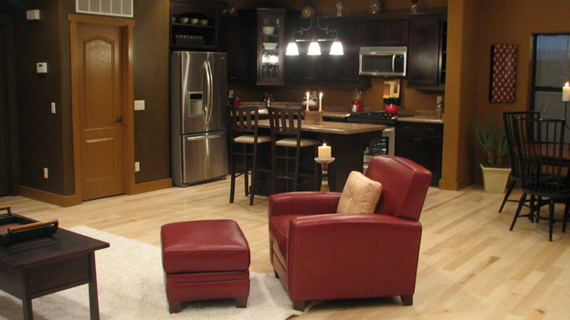 "EXTREME MAKEOVER HOME EDITION - ""Martinez Family,"" - Living Room, on ""Extreme Makeover Home Edition,"" Sunday, April 27th on the ABC Television Network."