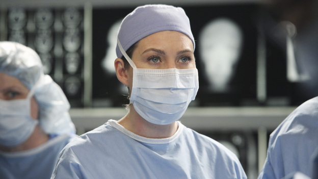 "GREY'S ANATOMY - ""Song Beneath the Song"" - In a series first, the music that has been at the heart of the show and been beloved by fans comes to life for Grey's Anatomy: The Music Event. A cataclysmic event rattles the doctors of Seattle Grace to the core, as Callie, on the verge of an enormous life-changing moment with Arizona, envisions her hospital and friends as it has never-been-seen before. ""Chasing Cars"" (Snow Patrol), ""How to Save a Life"" (The Fray) and ""The Story"" (Brandi Carlile) are among the songs performed by the cast in one of the most special hours of ""Greys Anatomy"" yet, THURSDAY, MARCH 31 (9:00-10:01 p.m., ET) on the ABC Television Network. (ABC/DANNY FELD)ELLEN POMPEO"