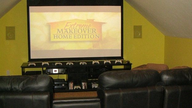EXTREME MAKEOVER HOME EDITION - &quot;Pauni Family,&quot; - Living Rooms, on &quot;Extreme Makeover Home Edition,&quot; Sunday, November 26th on the ABC Television Network.