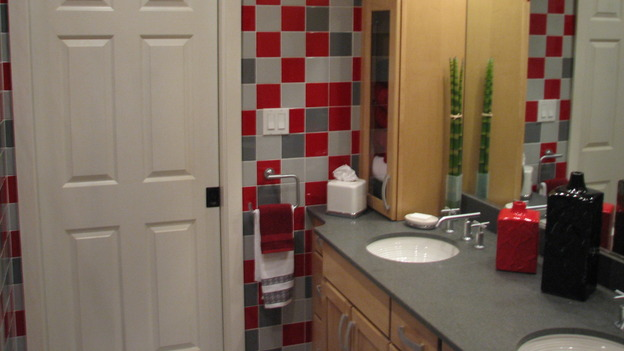 "EXTREME MAKEOVER HOME EDITION - ""Killagallon Family,"" - Bathroom, on ""Extreme Makeover Home Edition,"" Sunday, May 6th on the ABC Television Network."