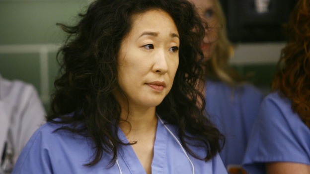 "GREY'S ANATOMY - ""Dream a Little Dream of Me"" - Dr. Cristina Yang, on ""Grey's Anatomy,"" THURSDAY, SEPTEMBER 25 (9:00-11:00 p.m., ET) on the ABC Television Network. (ABC/SCOTT GARFIELD) SANDRA OH"