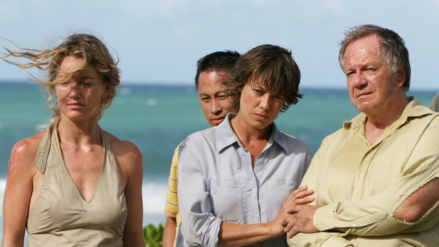 "LOST - ""The Other 48 Days"" - The harrowing first 48 days in the lives of the tail section survivors, including Libby, Cindy and Bernard, are revealed, on ""Lost,"" THURSDAY, NOVEMBER 16 on the ABC Television Network. (ABC/MARIO PEREZ) CYNTHIA WATROS, KIMBERLEY JOSEPH, SAM ANDERSON"