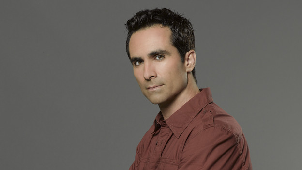 LOST - ABC's &quot;Lost&quot; stars Nestor Carbonell as Richard Alpert. (ABC/BOB D'AMICO)