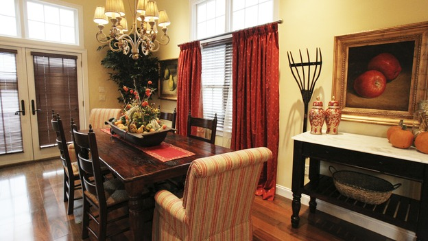 "EXTREME MAKEOVER HOME EDITION - ""Tripp Johnson Family,"" - Dining Room, on ""Extreme Makeover Home Edition,"" Sunday, November 20th on the ABC Television Network."