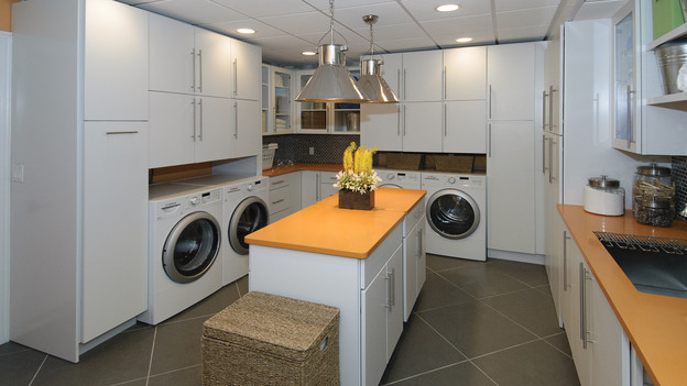 "EXTREME MAKEOVER HOME EDITION - ""Lutz Family,"" - Laundry Room Pictures, on ""Extreme Makeover Home Edition,"" Sunday, October 3rd(8:00-9:00 p.m. ET/PT) on the ABC Television Network."