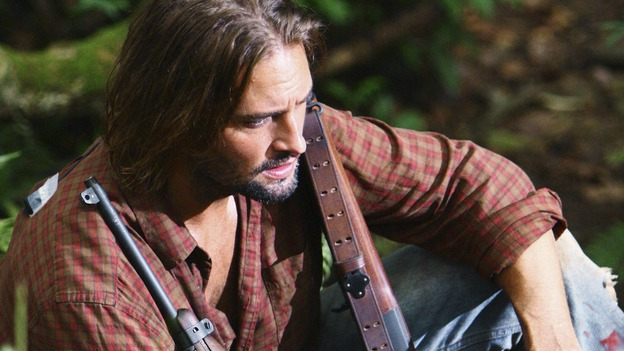 "LOST -  ""This Place is Death"" - Sawyer, on ""Lost,"" WEDNESDAY, FEBRUARY 11 (9:00-10:02 p.m., ET) on the ABC Television Network.  (ABC/MARIO PEREZ) JOSH HOLLOWAY"