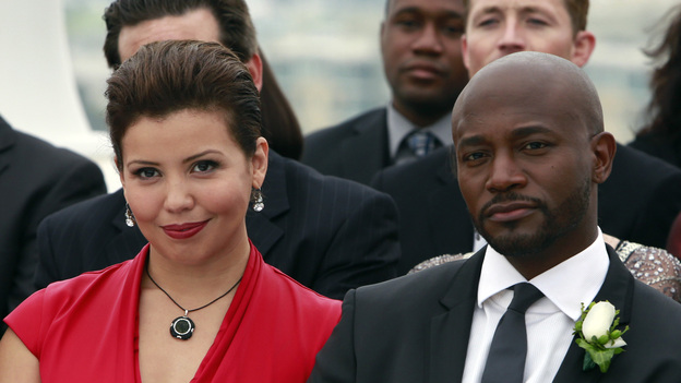 "PRIVATE PRACTICE - ""In Which We Say Goodbye"" - ABC's hit drama ""Private Practice"" will end its run with a special farewell to the beloved doctors of Seaside Health and Wellness. Naomi returns to stand by Addison's side on her wedding day, Cooper struggles with the hardships of being a stay-at-home father, and Violet begins a new project close to her heart, on the Series Finale of ""Private Practice,"" TUESDAY, JANUARY 22 (10:00-11:00 p.m., ET) on the ABC Television Network. (ABC/RON TOM)JUSTINA MACHADO, TAYE DIGGS"