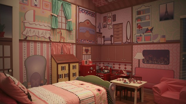 "EXTREME MAKEOVER HOME EDITION - ""Heathcock Family,"" - Dollhouse Room, on ""Extreme Makeover Home Edition,"" Sunday, March 21st on the ABC Television Network."