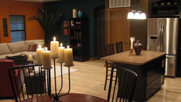 "EXTREME MAKEOVER HOME EDITION - ""Martinez Family,"" - Dining Room and Kitchen, on ""Extreme Makeover Home Edition,"" Sunday, April 27th on the ABC Television Network."