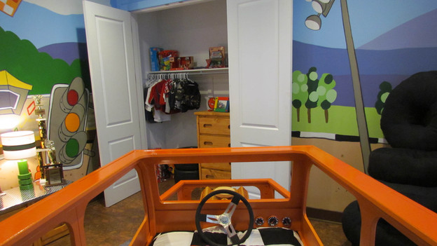 "EXTREME MAKEOVER HOME EDITION - ""McPhail Family,"" - Racecar Bedroom Picture,           on   ""Extreme Makeover Home Edition,"" Friday, October 28th              (8:00-10:00   p.m.  ET/PT) on the ABC Television Network."