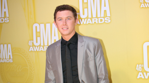 "THE 46TH ANNUAL CMA AWARDS - RED CARPET ARRIVALS - ""The 46th Annual CMA Awards"" airs live THURSDAY, NOVEMBER 1 (8:00-11:00 p.m., ET) on ABC live from the Bridgestone Arena in Nashville, Tennessee. (ABC/SARA KAUSS)SCOTTY MCCREERY"