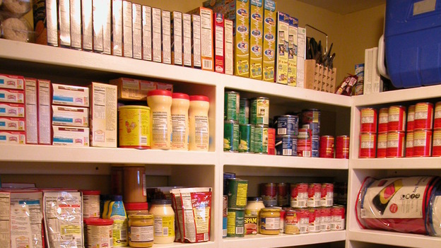 "EXTREME MAKEOVER HOME EDITION - ""Hawkins Family,"" - Kitchen Pantry, on ""Extreme Makeover Home Edition,"" Sunday, October 8th on the ABC Television Network."