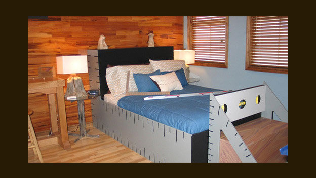 EXTREME MAKEOVER HOME EDITION - &quot;DeAethe Family,&quot; - Boy's Bedroom, on &quot;Extreme Makeover Home Edition,&quot; Sunday, January 29th on the ABC Television Network.