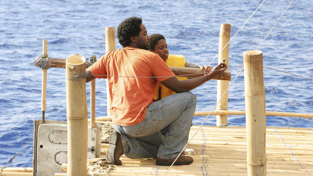 102788_9330 -- LOST - ÒEXODUS, PART IÓ (ABC/MARIO PEREZ)HAROLD PERRINEAU, MALCOLM DAVID KELLEY