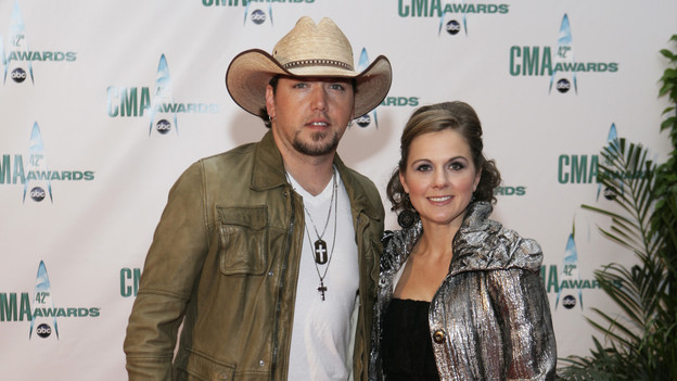 "THE 42ND ANNUAL CMA AWARDS - ARRIVALS - ""The 42nd Annual CMA Awards"" will be broadcast live from the Sommet Center in Nashville, WEDNESDAY, NOVEMBER 12 (8:00-11:00 p.m., ET) on the ABC Television Network. (ABC/ADAM LARKEY)JASON ALDEAN"
