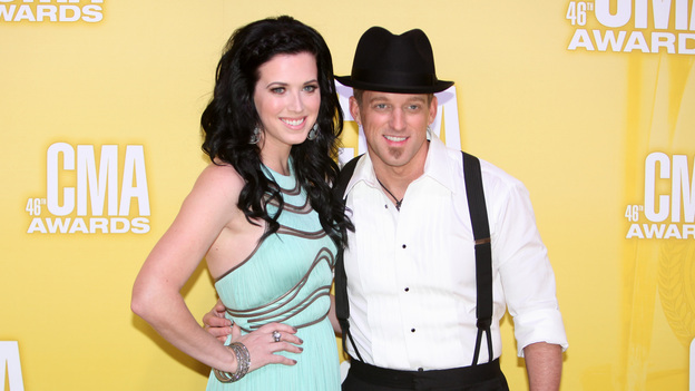 "THE 46TH ANNUAL CMA AWARDS - RED CARPET ARRIVALS - ""The 46th Annual CMA Awards"" airs live THURSDAY, NOVEMBER 1 (8:00-11:00 p.m., ET) on ABC live from the Bridgestone Arena in Nashville, Tennessee. (ABC/SARA KAUSS)THOMPSON SQUARE"