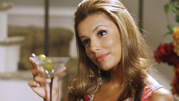 "DESPERATE HOUSEWIVES -- ""Nice She Ain't"" - The divorce between Gaby and Carlos reaches new levels of bitterness, Lynette becomes the co-owner of a new business venture, and Susan struggles with her love for two men, on ""Desperate Housewives,"" SUNDAY, OCTOBER 22 (9:00-10:01 p.m., ET) on the ABC Television Network. (ABC/RON TOM)EVA LONGORIA"