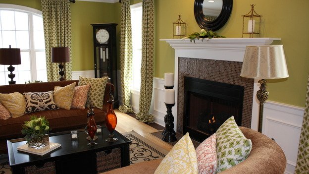 EXTREME MAKEOVER HOME EDITION - &quot;Augustin Family,&quot; - Living Room, on &quot;Extreme Makeover Home Edition,&quot; Sunday, March 1st on the ABC Television Network.