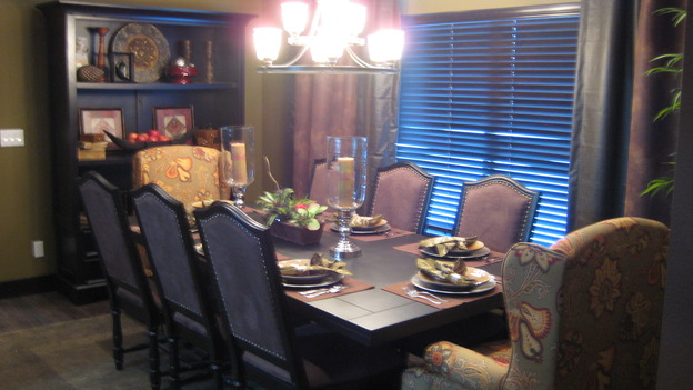 "EXTREME MAKEOVER HOME EDITION - ""Boettcher Family,"" - Dining Room, on ""Extreme Makeover Home Edition,"" Sunday, March 16th on the ABC Television Network."