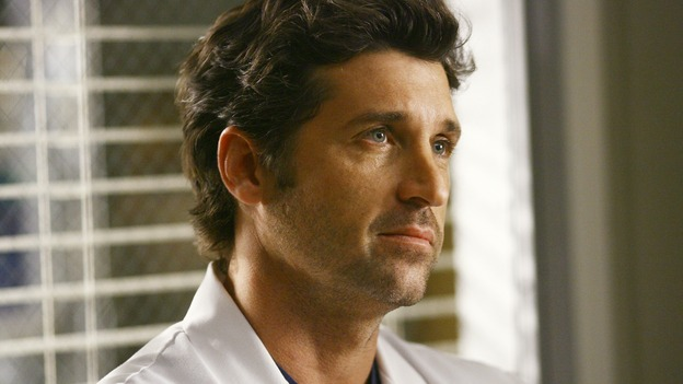 GREY'S ANATOMY - &quot;Dream a Little Dream of Me&quot; - On the two-hour season premiere of &quot;Grey's Anatomy,&quot; Meredith and Derek learn that &quot;happily ever after&quot; isn't easy, a military doctor who brings in a trauma patient catches Cristina's eye, and the Chief and his staff reel at the news that Seattle Grace is no longer nationally ranked as a top-tier teaching hospital, on &quot;Grey's Anatomy,&quot; THURSDAY, SEPTEMBER 25 (9:00-11:00 p.m., ET) on the ABC Television Network. (ABC/SCOTT GARFIELD)PATRICK DEMPSEY